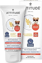 Parfüm, Parfüméria, kozmetikum Napvédő krém - Attitude Little Ones Sensitive Skin Sunscreen SPF 30