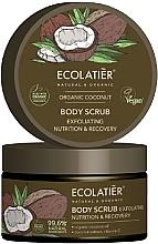 """Parfüm, Parfüméria, kozmetikum Testradír """"Táplálás és regenerálás"""" - Ecolatier Organic Coconut Body Scrub"""