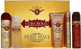 Parfüm, Parfüméria, kozmetikum Cuba Royal Must Have - Szett (edt/100ml + ash 100ml + sh/gel/200ml + deo/200ml + edt/35ml)