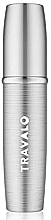 Parfüm, Parfüméria, kozmetikum Újratölthető parfümszóró, ezüst - Travalo Lux Silver Refillable Spray