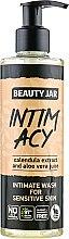 """Parfüm, Parfüméria, kozmetikum Intim gél érzékeny bőrre """"Intim Acy"""" - Beauty Jar Intimate Wash For Sensetive Skin"""