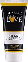 Parfüm, Parfüméria, kozmetikum Tusfürdő 2 az 1-ben - Sezmar Collection Aphrodisiac Suare Hair&Body Shower Gel