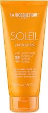 Parfüm, Parfüméria, kozmetikum Vízálló napvédő emulzió - La Biosthetique Soleil Emulsion SPF 25