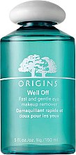 Parfüm, Parfüméria, kozmetikum Szemsmink tisztító lotion - Origins Well Off Fast And Gentle Eye Makeup Remover