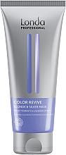 Parfüm, Parfüméria, kozmetikum Maszk világos hajra - Londa Professional Color Radiance Blonde & Silver Mask