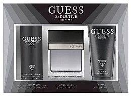 Parfüm, Parfüméria, kozmetikum Guess Seductive Homme - Szett (Edt/100 + deo/spray/226ml + sh/gel/200ml)