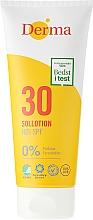Parfüm, Parfüméria, kozmetikum Napozó tej - Derma Sun Lotion SPF30