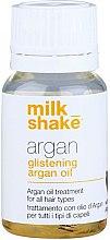 Parfüm, Parfüméria, kozmetikum Argánolaj mély helyreállításhoz és hajfényhez - Milk_Shake Argan Glistening Argan Oil