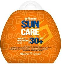 Parfüm, Parfüméria, kozmetikum Vízálló napvédő krém arcra és testre SPF30+ - Cafe Mimi Sun Care