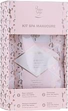 Parfüm, Parfüméria, kozmetikum Szett - Peggy Sage Spa Manucure Kit (bath/caviar/20g + peeling/gel/15ml + h/masque/15ml + h/cr/15ml)