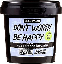 Parfüm, Parfüméria, kozmetikum Habzó fürdősó - Beauty Jar Don't Worry Be Happy!