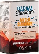 Parfüm, Parfüméria, kozmetikum Antibakteriális kénszappan - Barwa Anti-Acne Sulfuric Soap