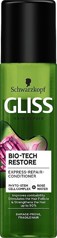 Kondicionáló spray hajra - Schwarzkopf Gliss Kur Bio-Tech Restore