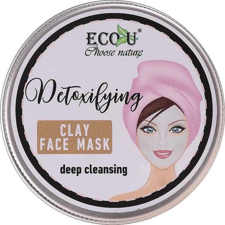 """Arcmaszk """"Mélytisztító"""" - Eco U Detoxifying Deep Cleansing Clay Face Mask"""
