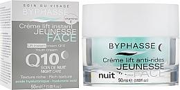 "Parfüm, Parfüméria, kozmetikum Éjszakai krém ""Lifting és ápolás"" - Byphasse Lift Instant Cream Q10 Night Care"