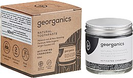 Parfüm, Parfüméria, kozmetikum Természetes fogkrém - Georganics Activated Charcoal Natural Toothpaste