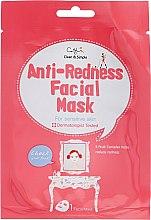 Parfüm, Parfüméria, kozmetikum Bőrpirosodás és irritálás gátló szövetmaszk érzékeny bőrre - Cettua Anti-Redness Facial Mask