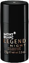 Parfüm, Parfüméria, kozmetikum Montblanc Legend Night Stick - Dezodor