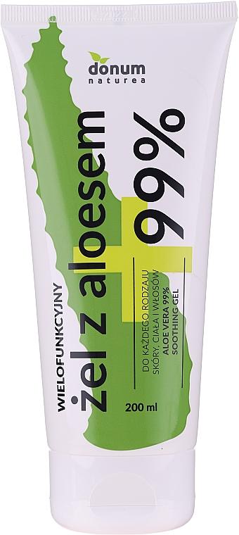 "Multifunkciónális gél ""Aloe vera"" - Donum Naturea Aloe Vera 99% Soothing Gel"