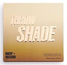 Parfüm, Parfüméria, kozmetikum Kontúrozó paletta - Makeup Obsession Throw Shade Contour Palette