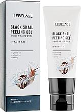 Parfüm, Parfüméria, kozmetikum Hámlasztó arclemosó csiga kivonattal - Lebelage Black Snail Peeling Gel