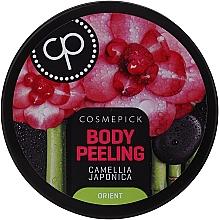 Parfüm, Parfüméria, kozmetikum Relax-peeling testre japán kaméliavirág olajjal - Cosmepick Body Peeling Camellia Japonica