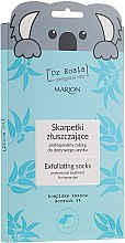 Parfüm, Parfüméria, kozmetikum Hámlasztó zokni-lábmaszk - Marion Dr Koala Exfoliating Socks