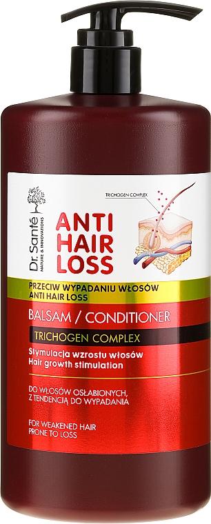 Balzsam a gyenge és hajhullásra hajlamos hajra pumpás - Dr. Sante Anti Hair Loss Balm