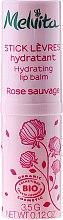 Parfüm, Parfüméria, kozmetikum Hidratáló ajakbalzsam - Melvita Rose Sauvage Moisturizing Lip Balm