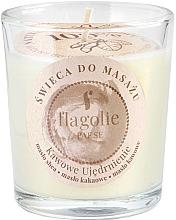 """Parfüm, Parfüméria, kozmetikum Masszázs gyertya üvegben """"Erősítő kávé"""" - Flagolie Coffee Firming Massage Candle"""