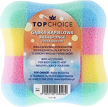 """Parfüm, Parfüméria, kozmetikum Fürdőszivacs """"négyzet"""" 30482, színes - Top Choice"""