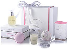 Parfüm, Parfüméria, kozmetikum Szett - AromaWorks Nurture Body Indulgence Gift Set (bath/bomb/2x250g + candle/75g + b/oil/100ml + flannel)