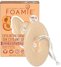 Parfüm, Parfüméria, kozmetikum Hámlasztó szappan testre sárgabarackmaggal és sheavajjal - Foamie Exfoliating Body Bar With Apricot Seeds & Shea Butter