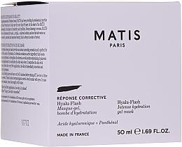Parfüm, Parfüméria, kozmetikum Intenzíven hidratáló gél-maszk arcra - Matis Reponse Corrective Hyalu-Flash Intense Hydration Gel Mask