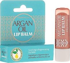 Parfüm, Parfüméria, kozmetikum Ajakvédő balzsam argánolajjal - GlySkinCare Argan Oil Lip Balm