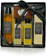 Parfüm, Parfüméria, kozmetikum Szett - Beeing True (sh/gel 175ml +sh/balm 175ml + salf 100ml + peel/100ml+törölköző)
