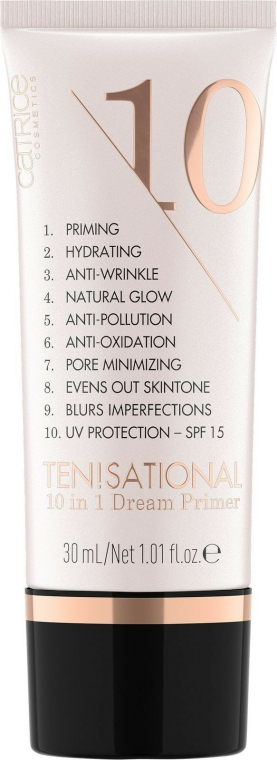 Primer arcra - Catrice Ten!sational 10 in 1 Dream Primer