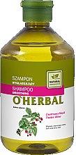 Parfüm, Parfüméria, kozmetikum Sampon málna kivonattal - O'Herbal Smoothing Shampoo