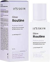 Parfüm, Parfüméria, kozmetikum Fényességet biztosító arcszérum - It's Skin Glow Routine Radiant Serum