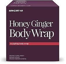 Parfüm, Parfüméria, kozmetikum Narancsbőr elleni mézes-gyömbéres pakolás - Natura Siberica Fresh Spa Kam-Chat-Ka Honey Ginger Body Wrap