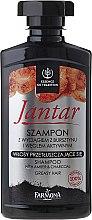 Parfüm, Parfüméria, kozmetikum Detox sampon aktín szénnel - Farmona Jantar Detoxifying Shampoo With Active Charcoal