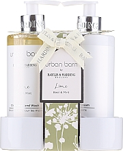 Parfüm, Parfüméria, kozmetikum Szett - Baylis & Harding Urban Barn Lime Basil & Mint (h/wash/300ml + h/cr/300ml)