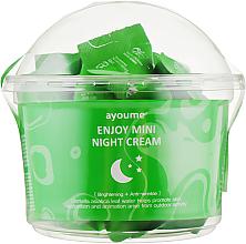 Parfüm, Parfüméria, kozmetikum Éjszakai arckrém centella asiaticával - Ayoume Enjoy Mini Night Cream