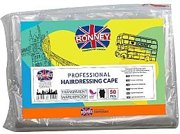Parfüm, Parfüméria, kozmetikum Eldobható fodrászköpenyek - Ronney Professional Hairdressing Cape
