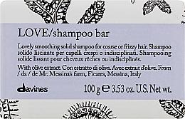 Parfüm, Parfüméria, kozmetikum Szilárd sampon dúrva és hullámos haj kiegyenesítésére - Davines Essential Haircare Love Smooth Shampoo Bar
