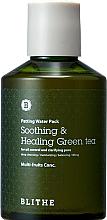 """Parfüm, Parfüméria, kozmetikum Helyreállító splash maszk """"Zöld tea"""" - Blithe Patting Splash Mask Soothing Green Tea"""