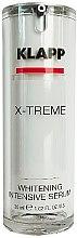 Parfüm, Parfüméria, kozmetikum Világosító szérum - Klapp X-treme Whitening Intensive Serum