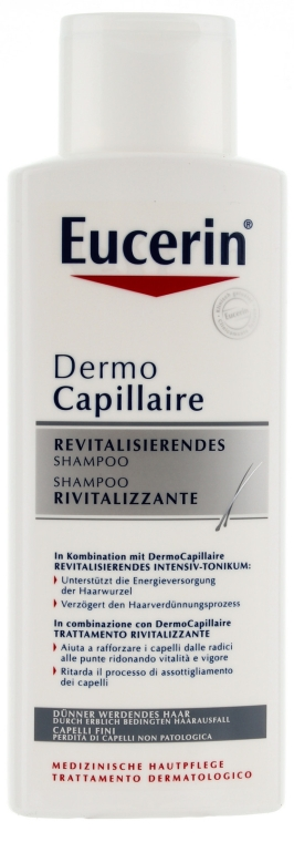 Hajhullás elleni sampon - Eucerin DermoCapillaire Re-Vitalizing Shampoo — fotó N1