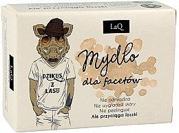 Parfüm, Parfüméria, kozmetikum Szappan férfiaknak aktív szénnel - LaQ Men Soap With Activated Carbon