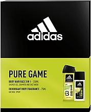 Parfüm, Parfüméria, kozmetikum Adidas Pure Game - Szett (edc/75ml + sh/gel/250ml)